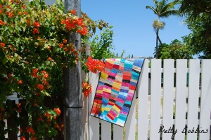 No doubt inspired by the beautiful colours of the South Pacific!