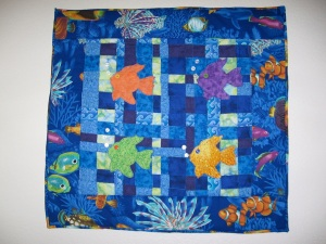 2. My First Quilt