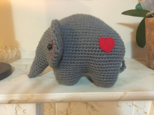 5. Amigurumi Elephant