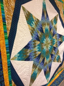 Coral's award-winning quilt
