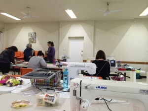 Canberra Modern Quilt Guild sewing day